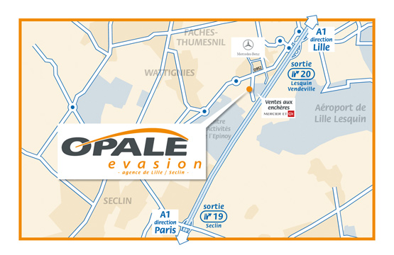 Opale evasion concession lille itineraire plan